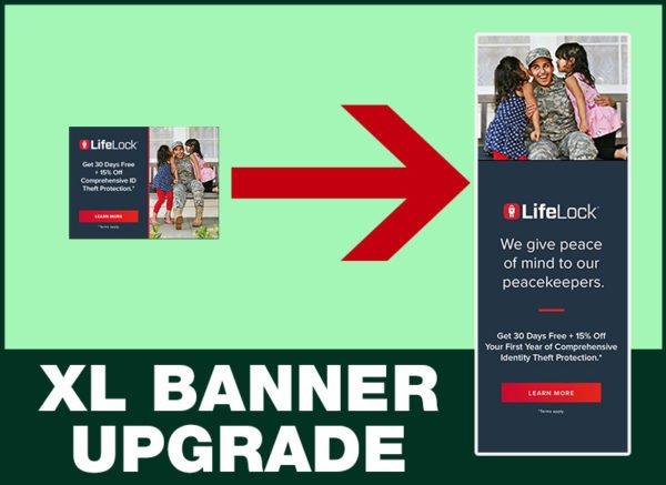 8. XL Banner Upgrade